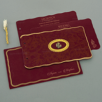 Hindu Wedding Cards - HWC-17108