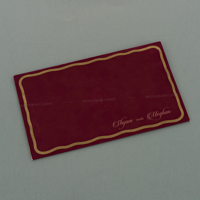 Hindu Wedding Cards - HWC-17108 - 3