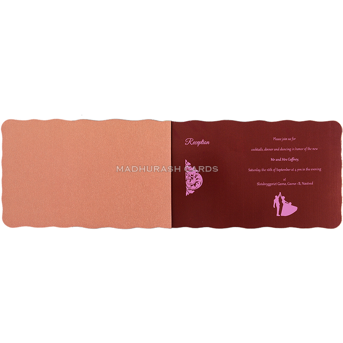 Hindu Wedding Cards - HWC-17108 - 5