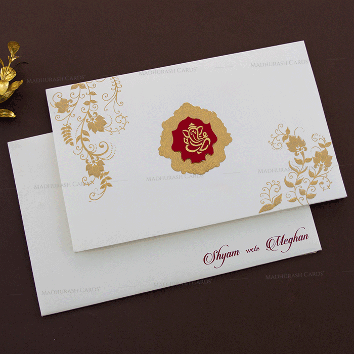 Hindu Wedding Cards - HWC-17178
