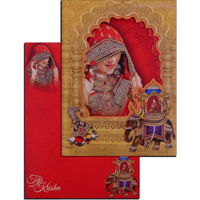 Hindu Wedding Cards - HWC-17111