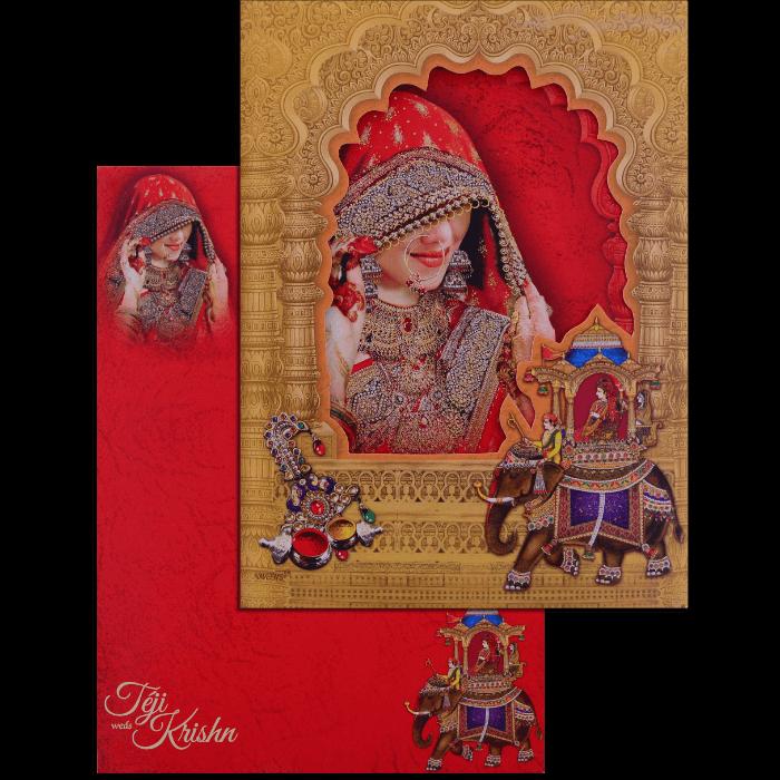 Hindu Wedding Cards - HWC-17111