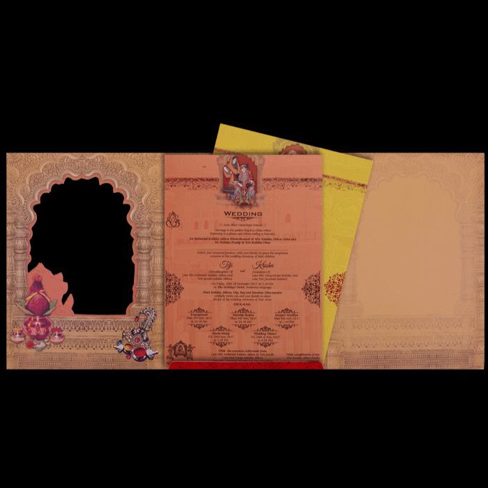 Hindu Wedding Cards - HWC-17111 - 3