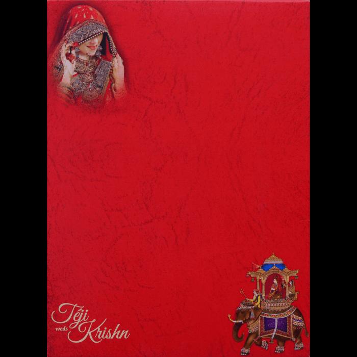 Hindu Wedding Cards - HWC-17111 - 4