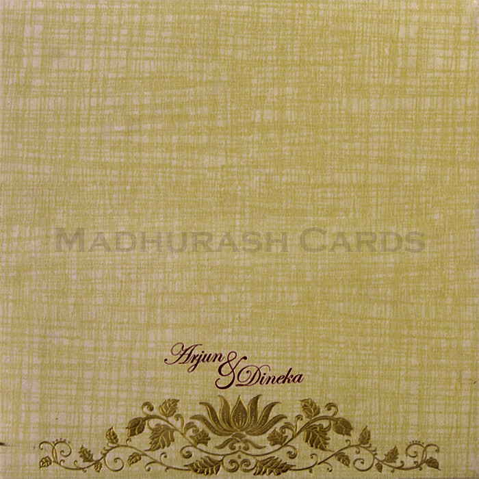 Hard Bound Wedding Cards - HBC-17064 - 3