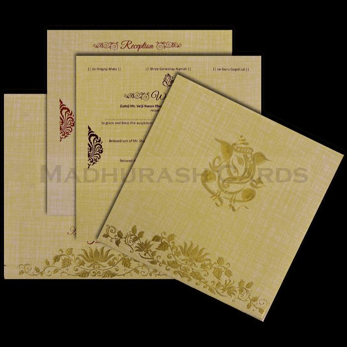 Hard Bound Wedding Cards - HBC-17064 - 5