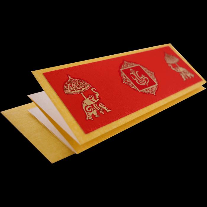 Hindu Wedding Cards - HWC-17776 - 5