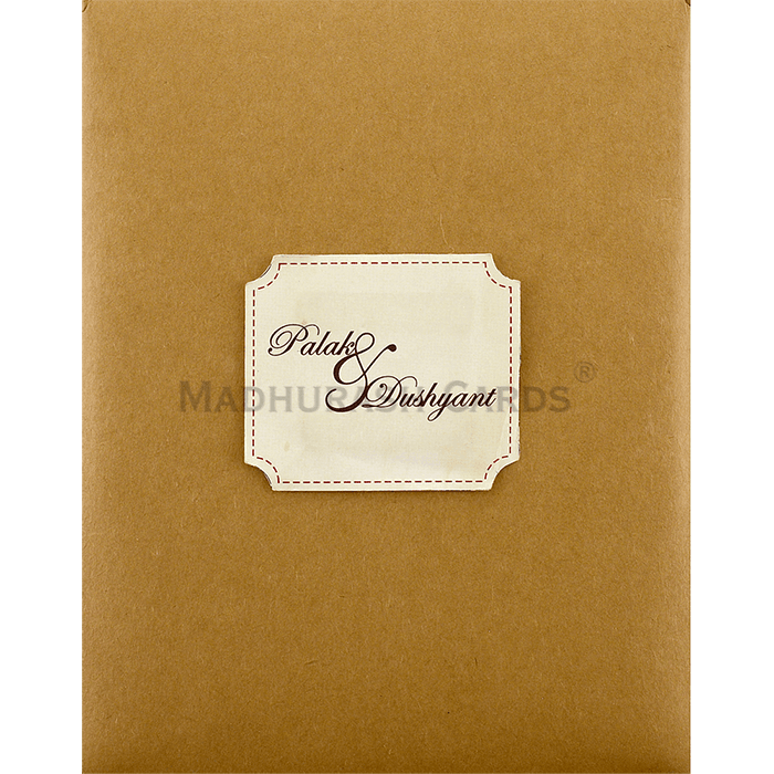 Kraft Wedding Invitations - KWC-9453 - 4