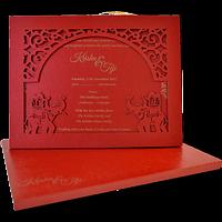 Hard Bound Wedding Cards - HBC-17019