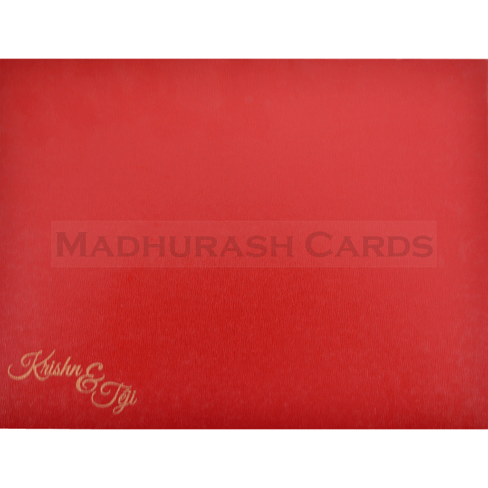 Hard Bound Wedding Cards - HBC-17019 - 3