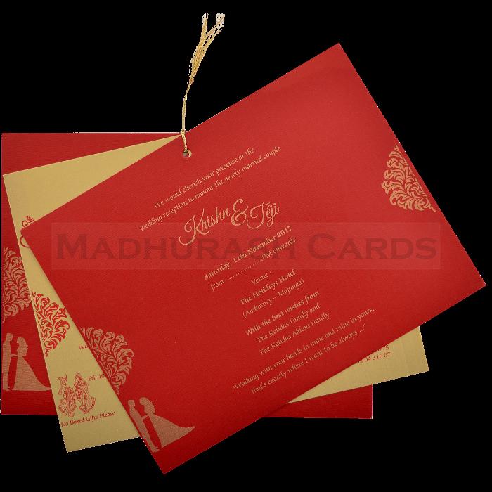 Hard Bound Wedding Cards - HBC-17019 - 4