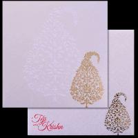 Hard Bound Wedding Cards - HBC-17204