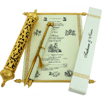 Royal Scroll Invitations - SC-6001