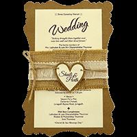 Muslim Wedding Cards - MWC-9481