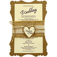 Hindu Wedding Cards - HWC-9481