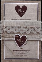Kraft Wedding Invitations - KWC-9401-B