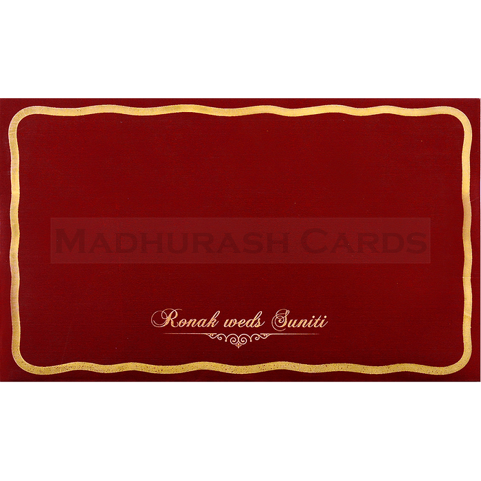 Sikh Wedding Cards - SWC-17108S - 3