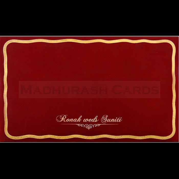 Sikh Wedding Cards - SWC-17108S - 3