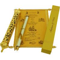 Royal Scroll Invitations - SC-6005