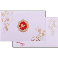 Sikh Wedding Cards - SWC-17178S