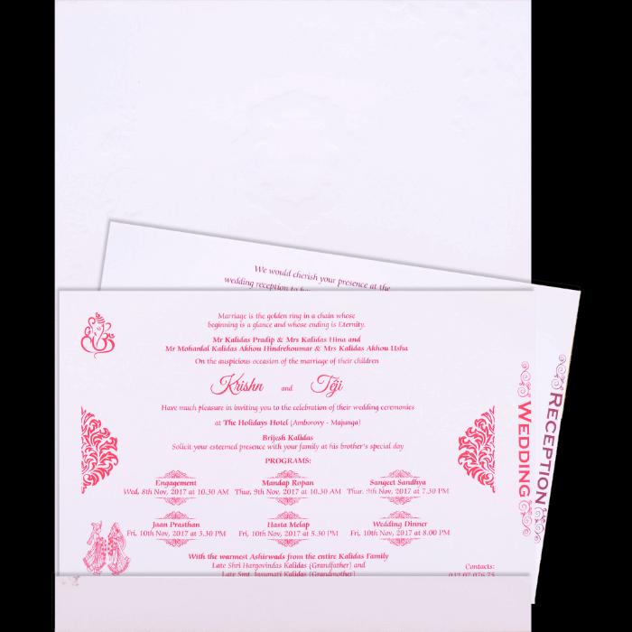 Christian Wedding Cards - CWI-17178I - 3