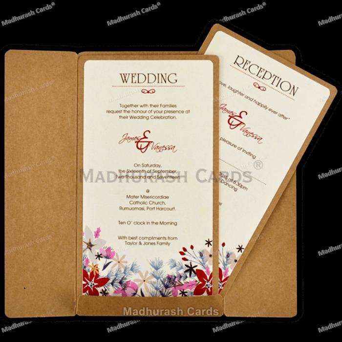 Kraft Wedding Invitations - KWC-8842 - 4