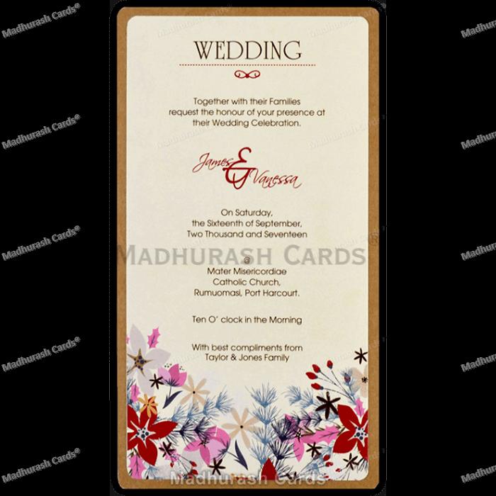 Kraft Wedding Invitations - KWC-8842 - 5