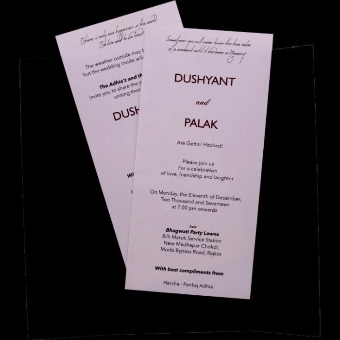 test Custom Wedding Cards - CZC-9541