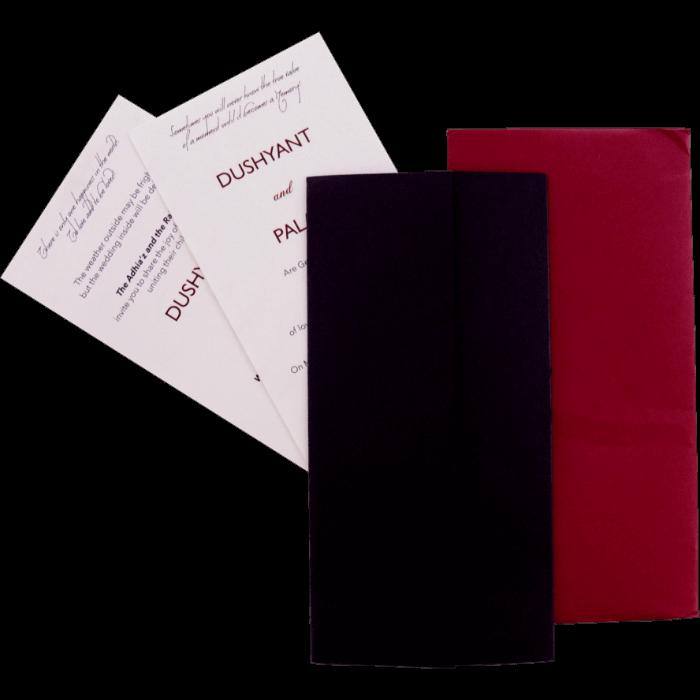 Custom Wedding Cards - CZC-9541 - 3