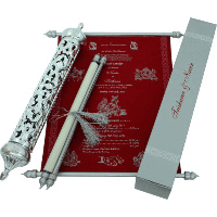 Royal Scroll Invitations - SC-6012