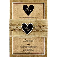 Custom Wedding Cards - CZC-9401