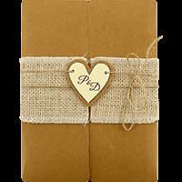 Custom Wedding Cards - CZC-9453