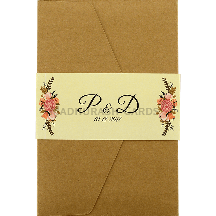 test Custom Wedding Cards - CZC-9461