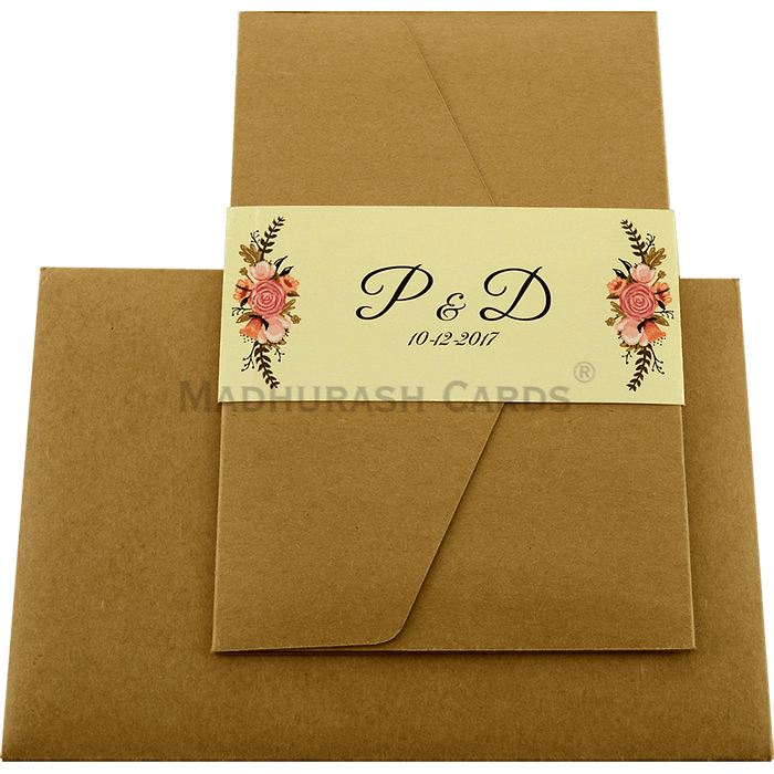 Custom Wedding Cards - CZC-9461 - 3