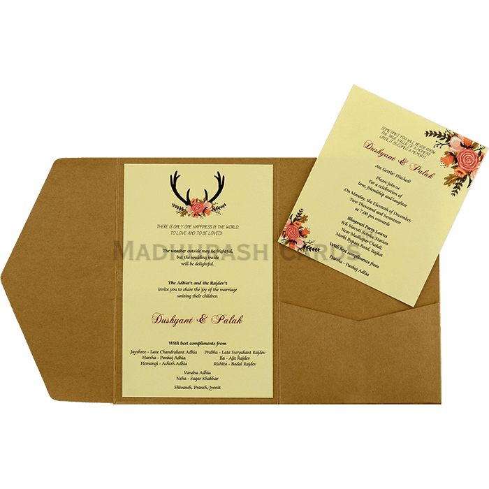 Custom Wedding Cards - CZC-9461 - 5