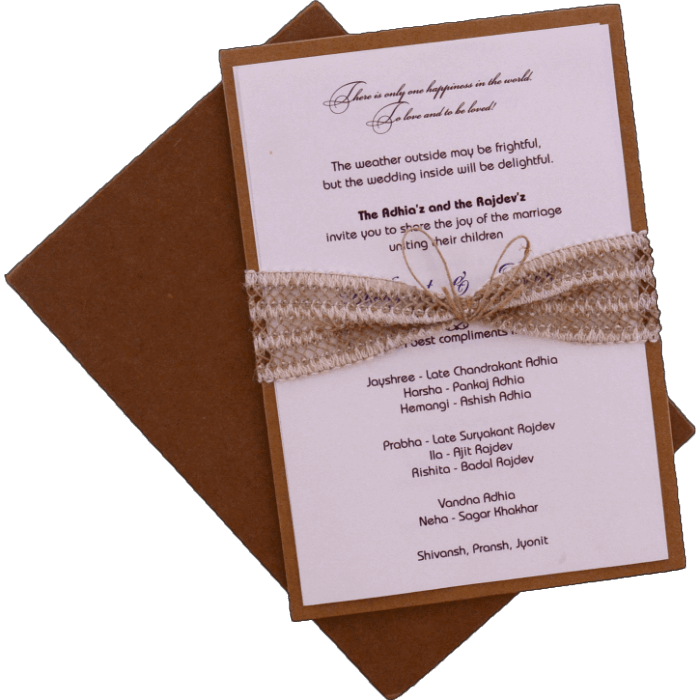 test Custom Wedding Cards - CZC-9482
