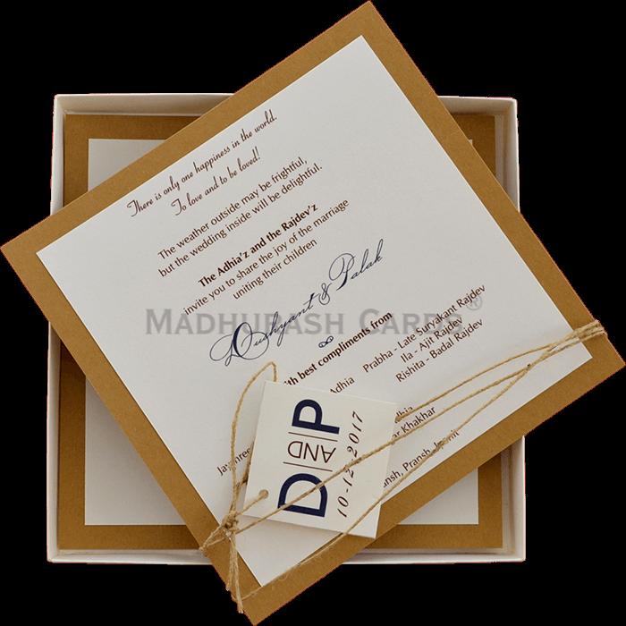 Custom Wedding Cards - CZC-9464 - 5