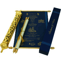 Royal Scroll Invitations - SC-6013