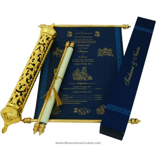 test Royal Scroll Invitations - SC-6013