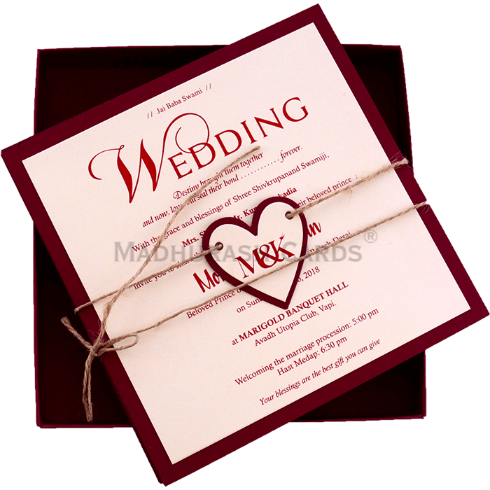 Custom Wedding Cards - CZC-9421M - 5