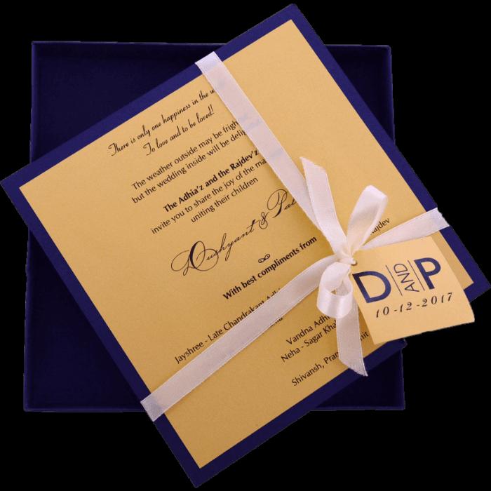 Custom Wedding Cards - CZC-9441B - 3