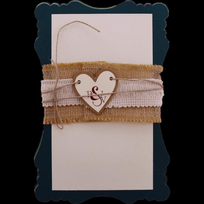 Custom Wedding Cards - CZC-9481B - 3