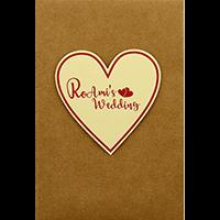 Custom Wedding Cards - CZC-9412