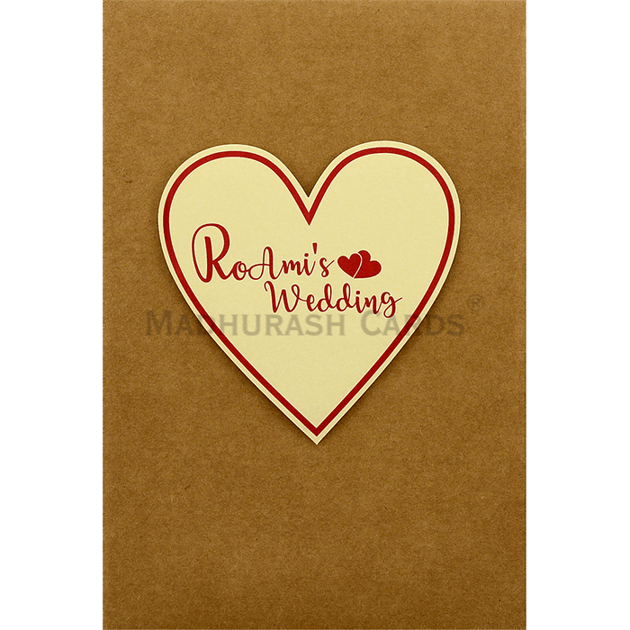 test Custom Wedding Cards - CZC-9412