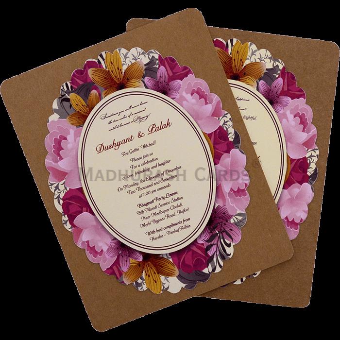 test Custom Wedding Cards - CZC-9531