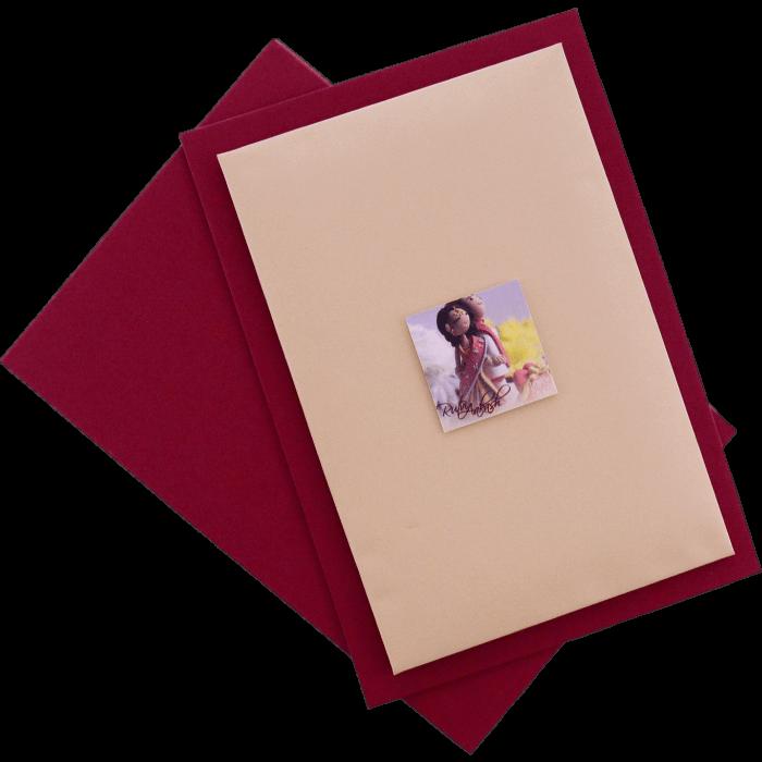 test Custom Wedding Cards - CZC-9431P