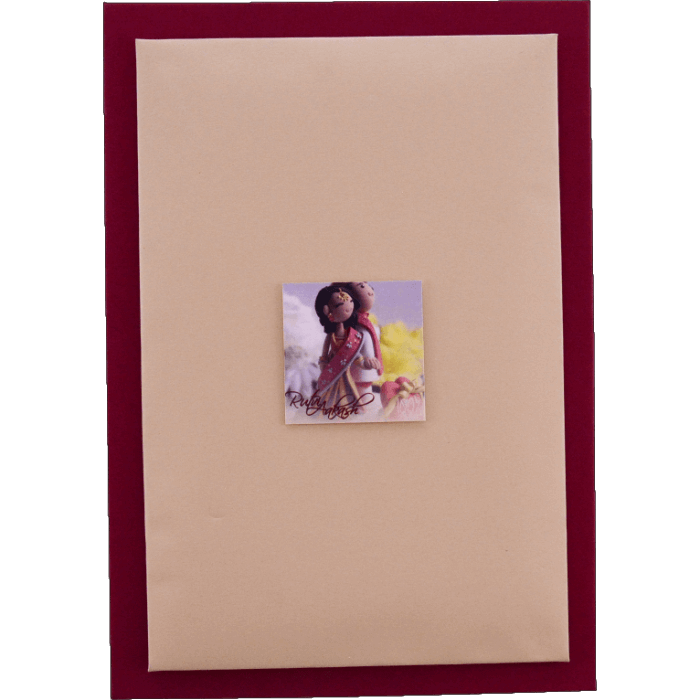 Custom Wedding Cards - CZC-9431P - 4
