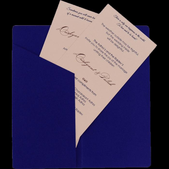 Custom Wedding Cards - CZC-9542 - 3
