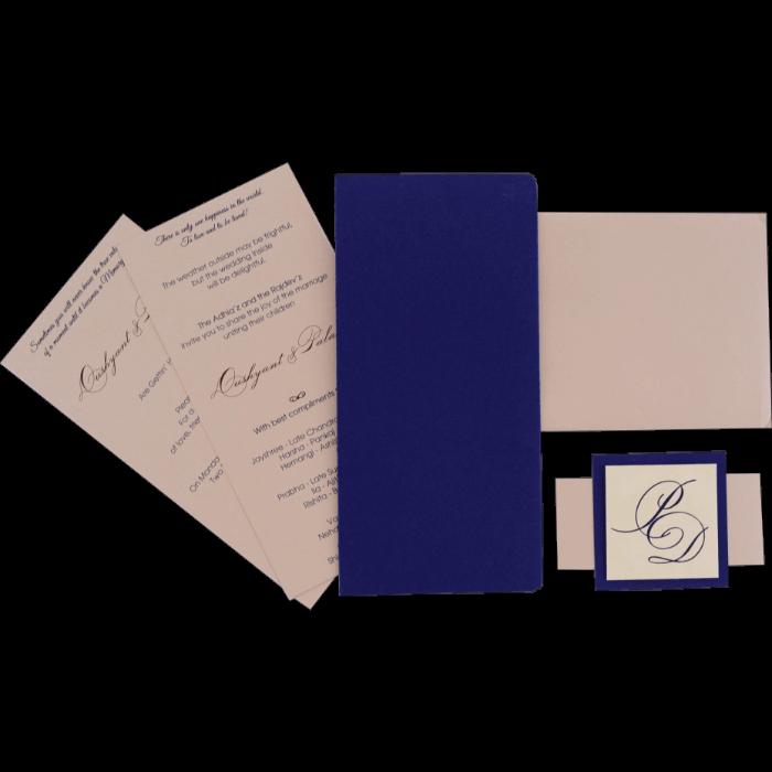 Custom Wedding Cards - CZC-9542 - 4