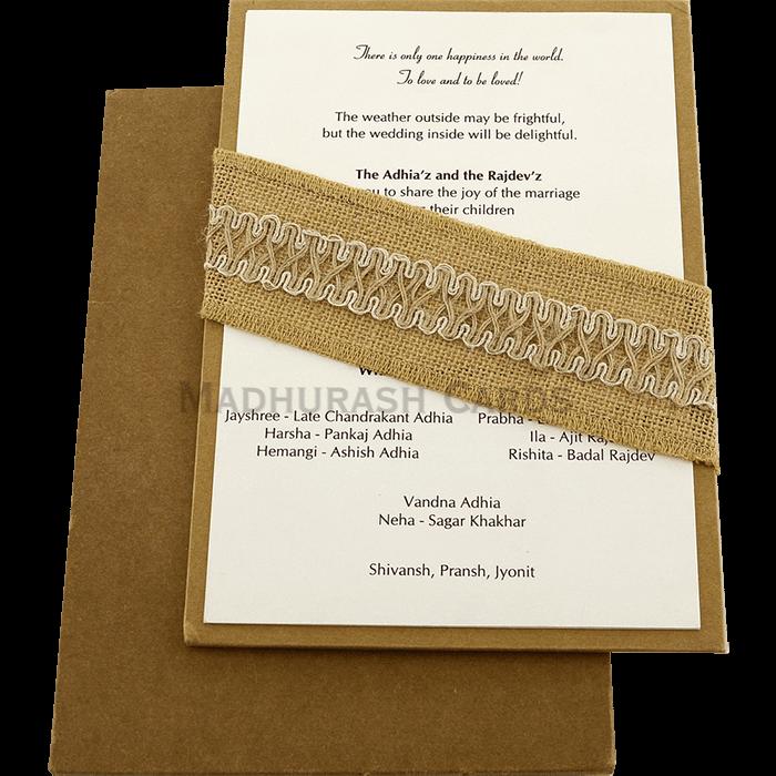 Custom Wedding Cards - CZC-9465 - 3